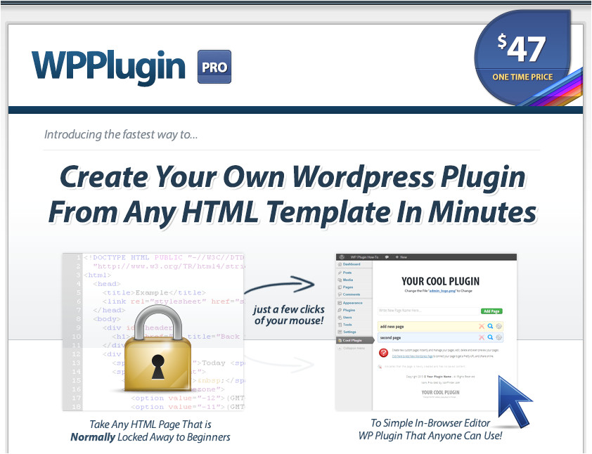 Create Your Own WordPress theme From An HTML Template Wpplugin Pro Create Your Own WordPress Plugin From Any