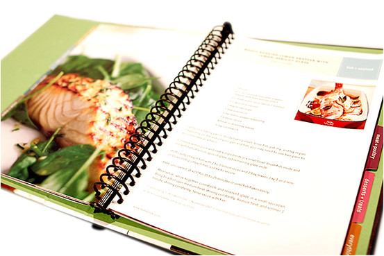 creating your own recipe book