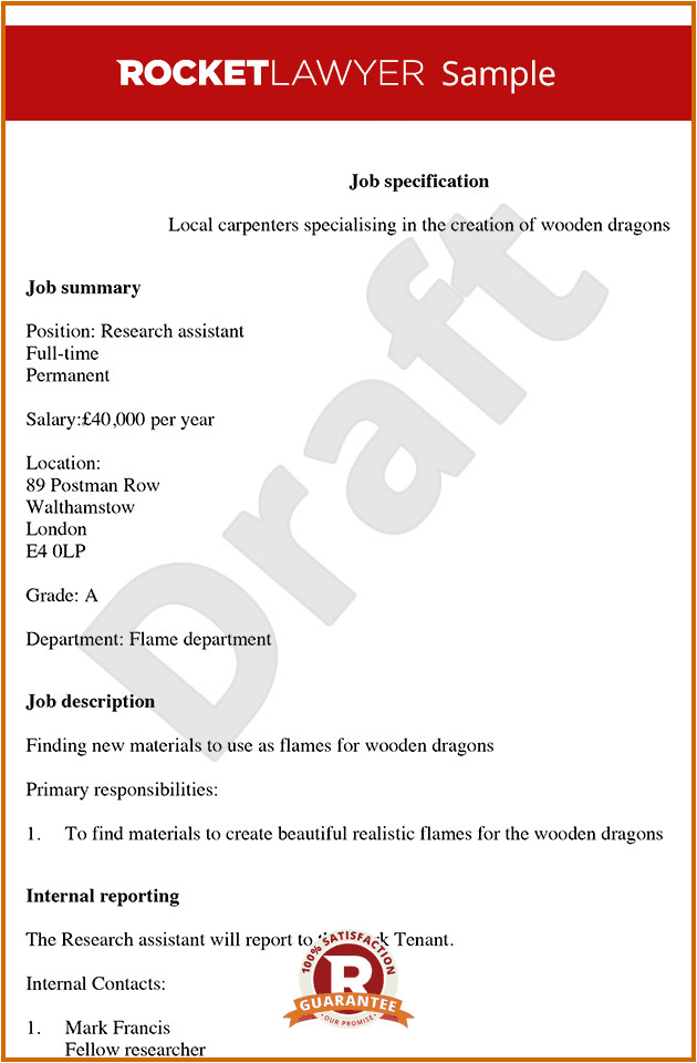 6 how to make job description format