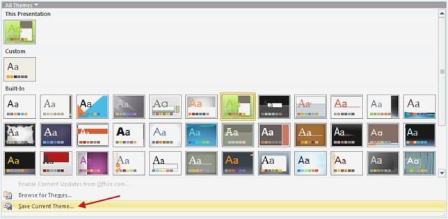 templates powerpoint 2010