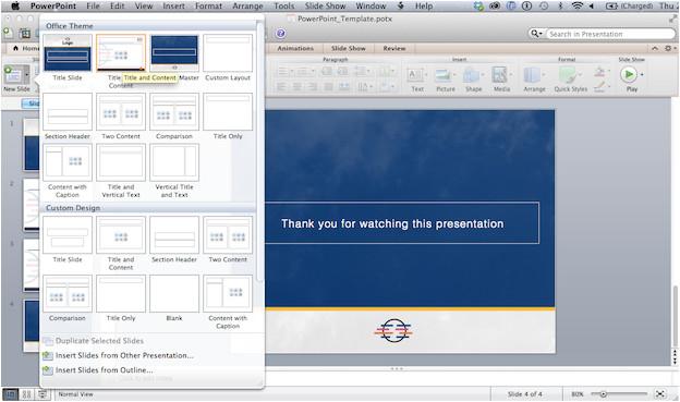 powerpoint tutorial create a custom template