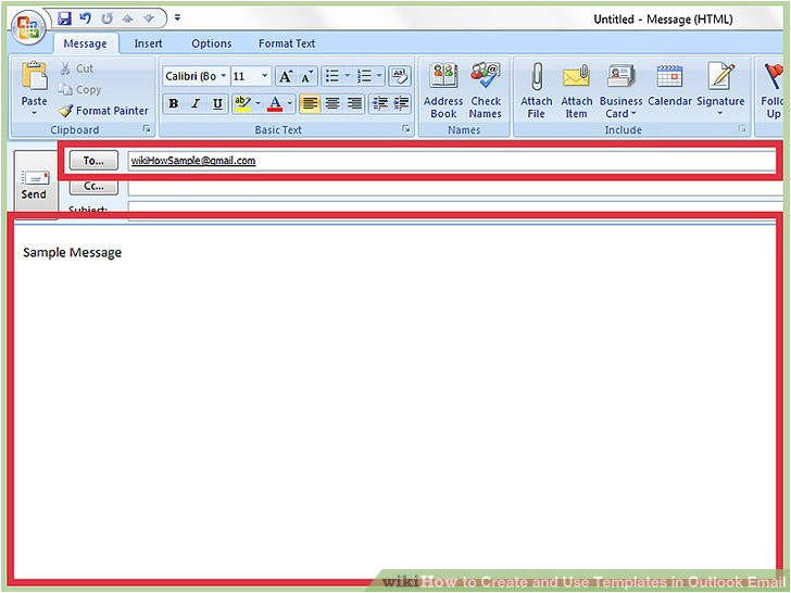 Creating Email Templates In Outlook How to Create and Use Templates In Outlook Email with