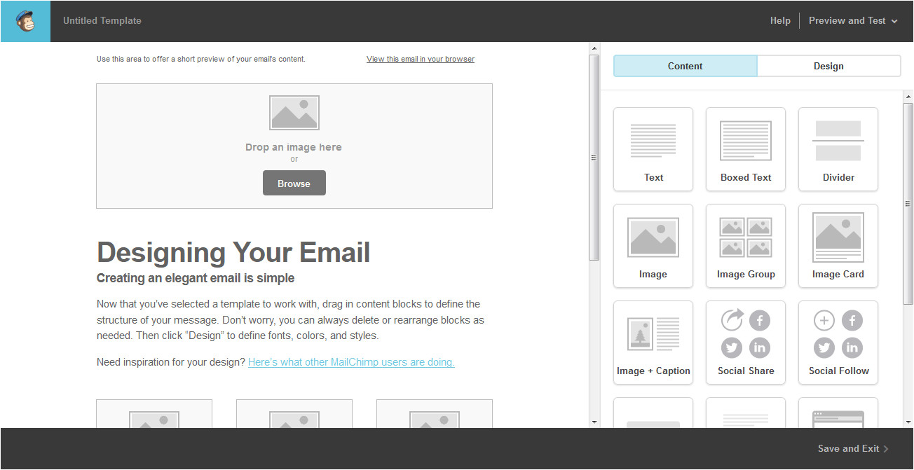 how to create a language button function inside mailchimp template