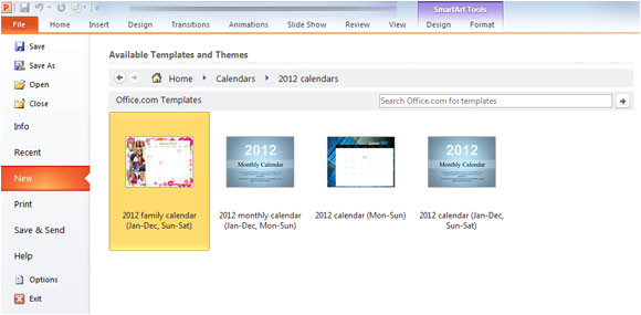 creating powerpoint templates 2010 how to create a calendar in powerpoint 2010 template