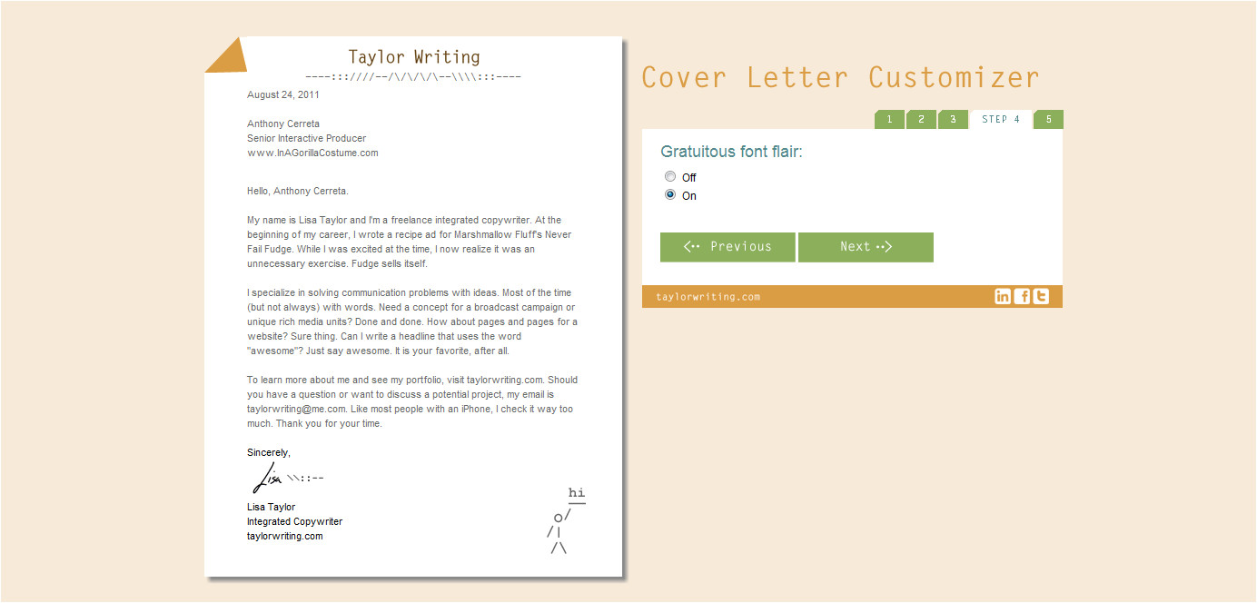 Creative Cover Letters for Marketing Lovely Creative Cover Letter Cover Letter Examples