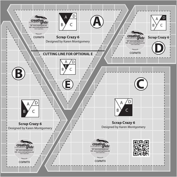 6 scrap crazy templates