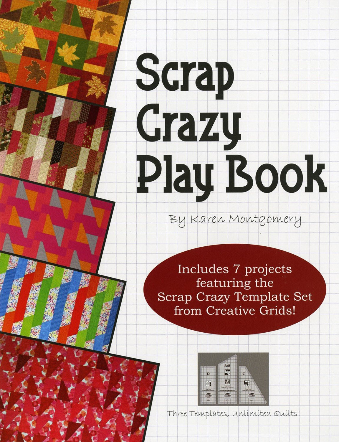 scrap crazy play book quilt patterns for