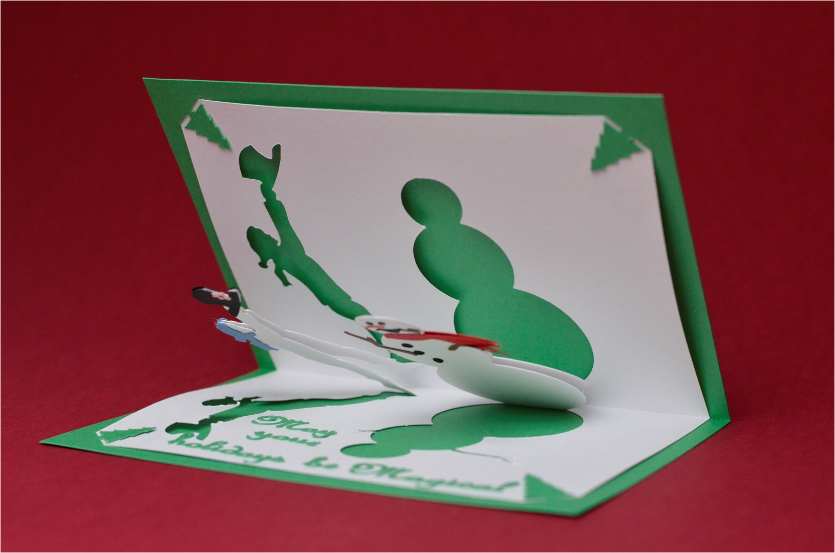 Creative Pop Up Cards Templates Free Pop Up Card Templates E Commerce