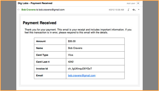 11 credit card receipt template