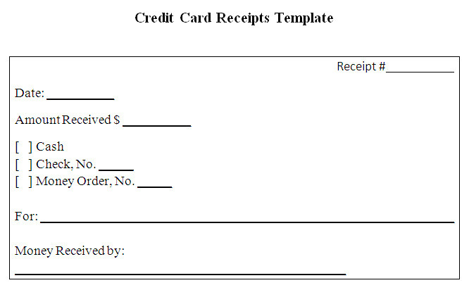 receipt template for graphic designers