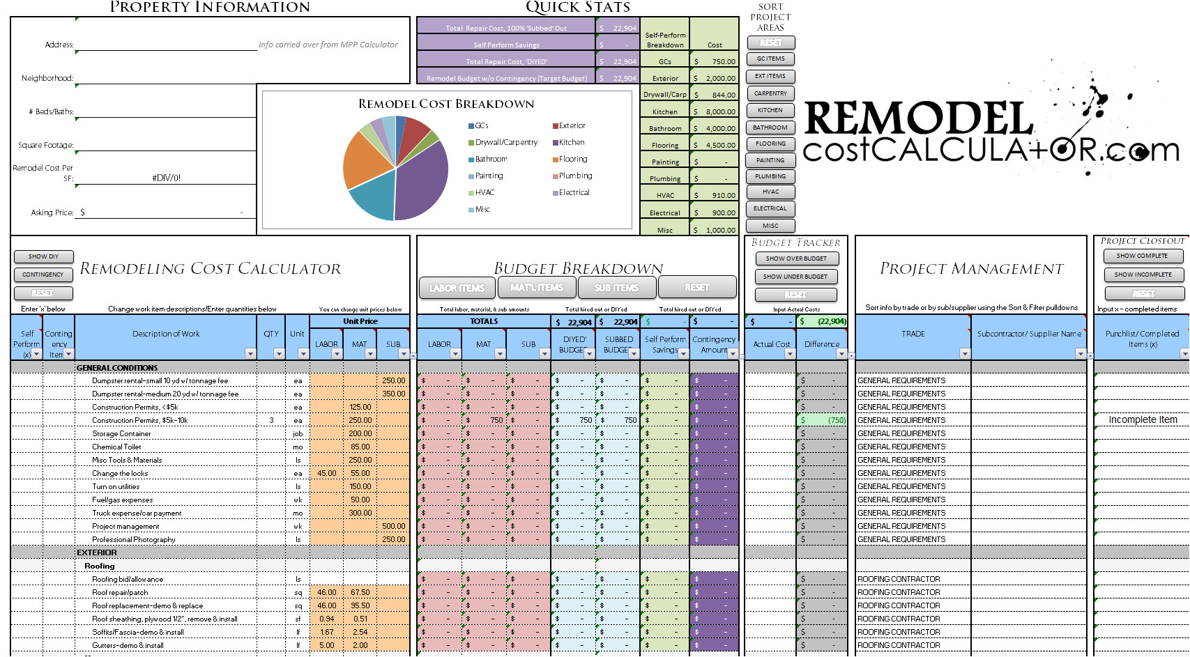 free crop budget spreadsheet templates 2