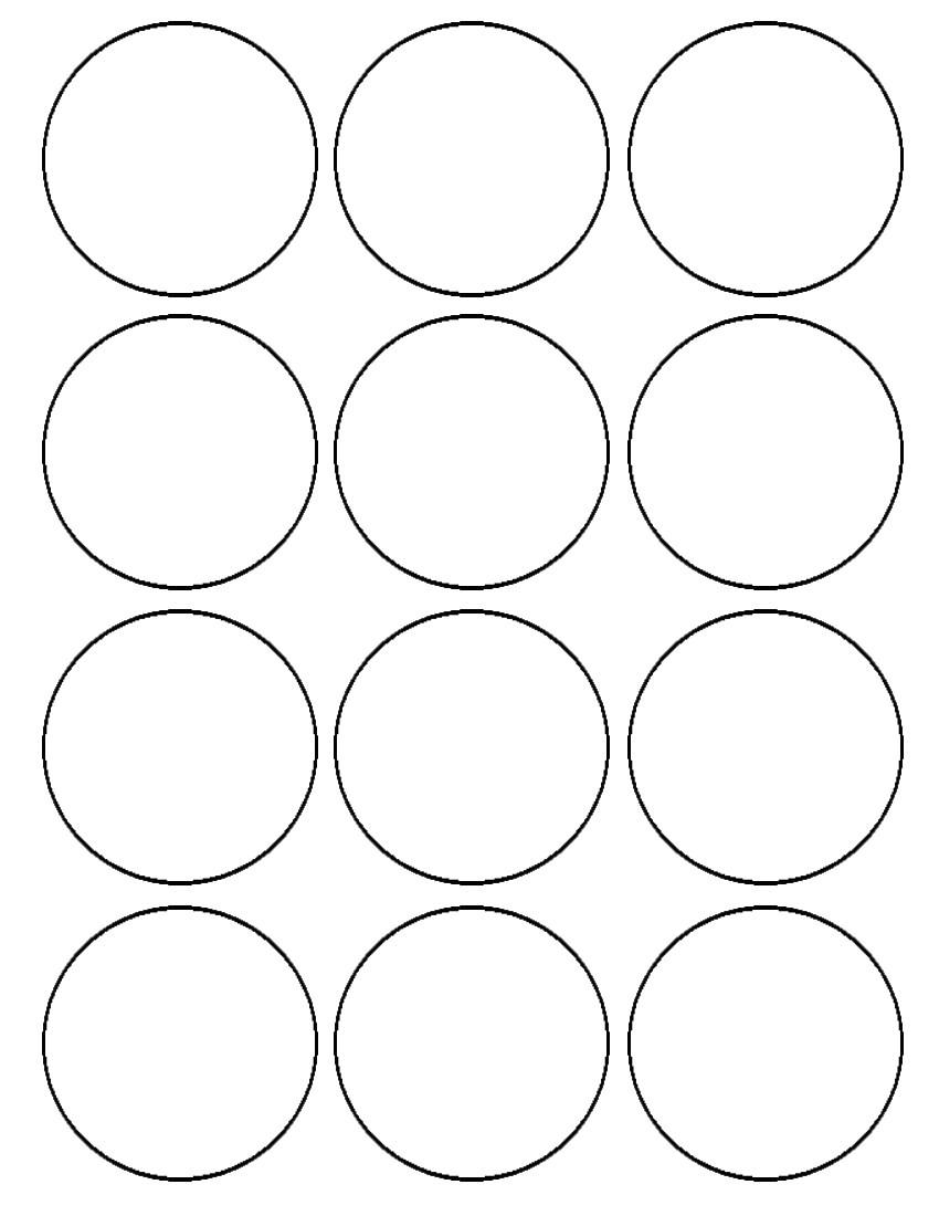 Cupcake Circle Template Pin Cupcake Wrappers Templates Cake On Pinterest