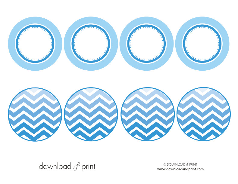 cupcake topper template free download