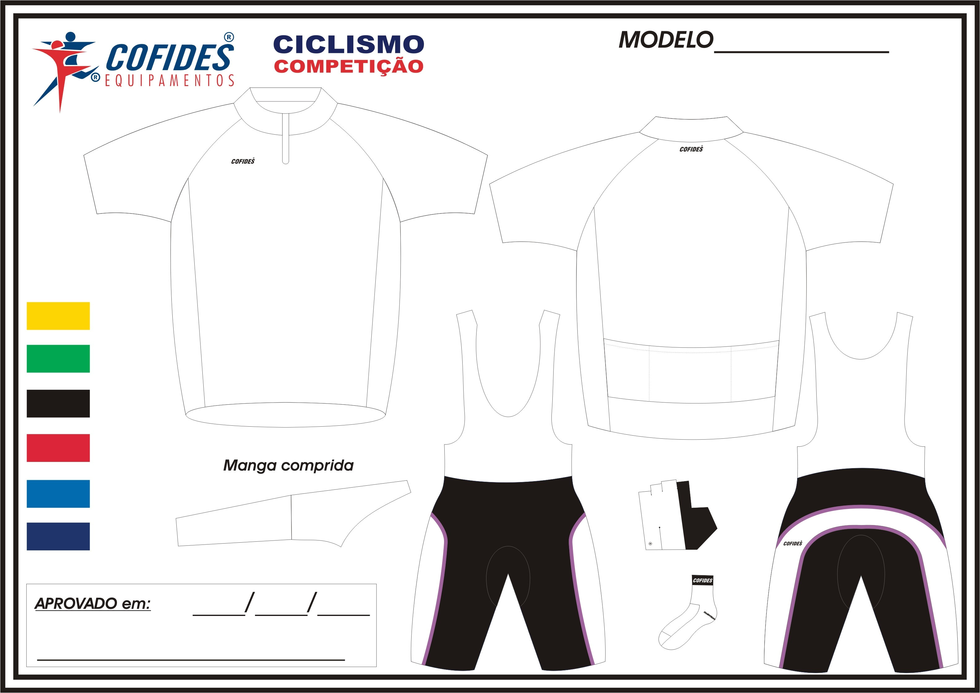 bike jersey template eps