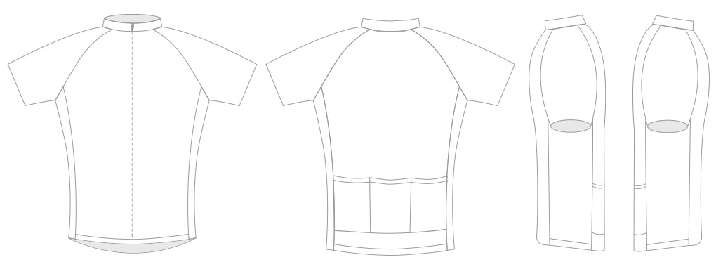 custom cycling jersey order page