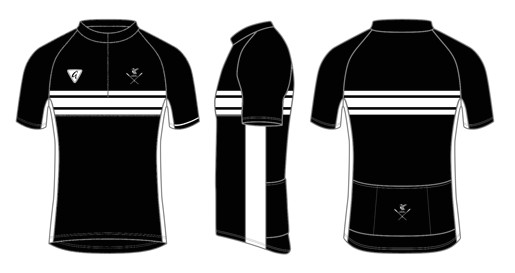 Custom Cycling Jersey Template Custom S S Classics Neck Zip Cycling Jersey Mersey