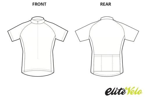 cycling jersey template pdf