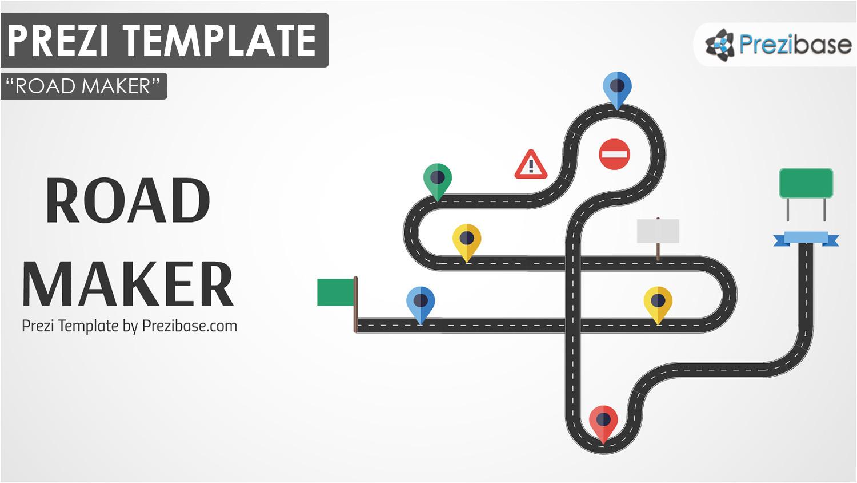 custom road maker prezi template