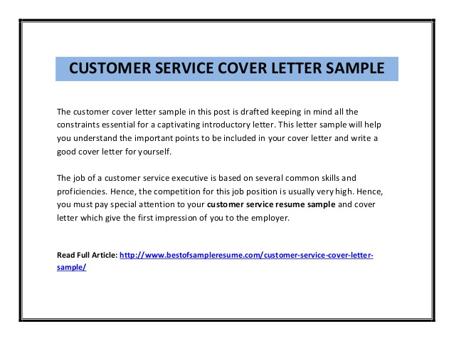Customer Service Message Template Customer Service Cover Letter Sample Pdf