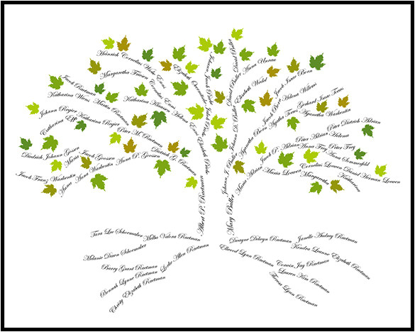 Customizable Family Tree Template 15 Amazing Family Tree Art Templates Designs Free