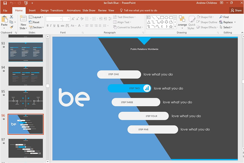 how to change powerpoint templates cms 28980