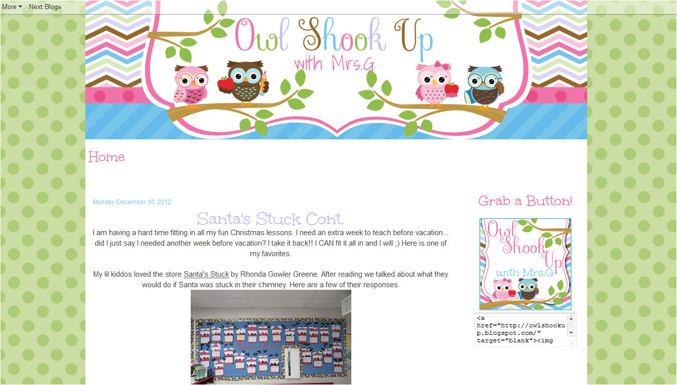 scrapbook style custom blog designs