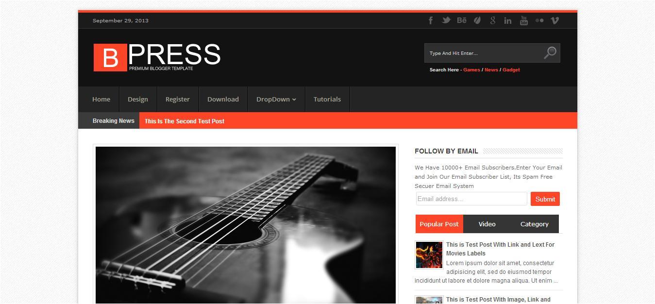 Customizing Blogger Template Customize Blogger Template by Cbtblogger On Envato Studio