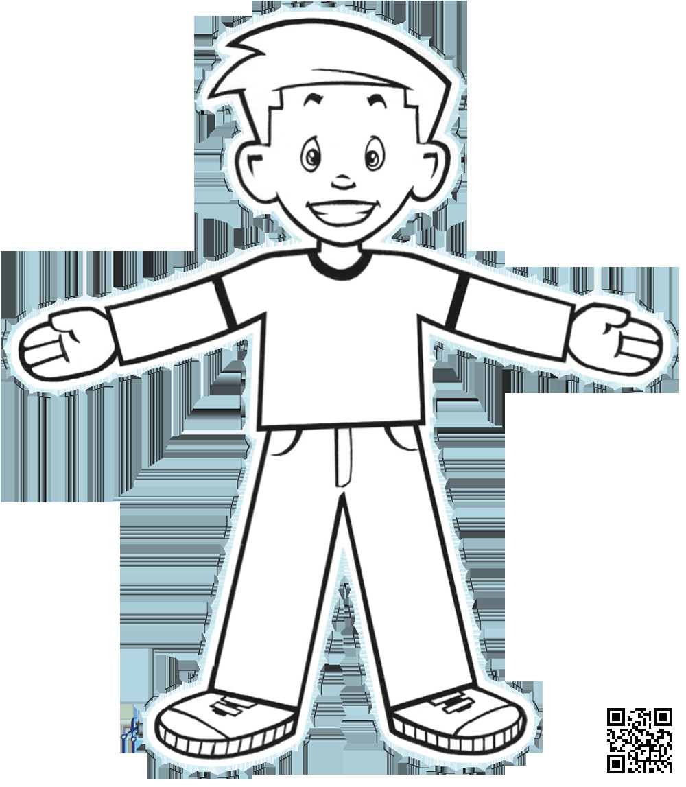 flat stanley cut out