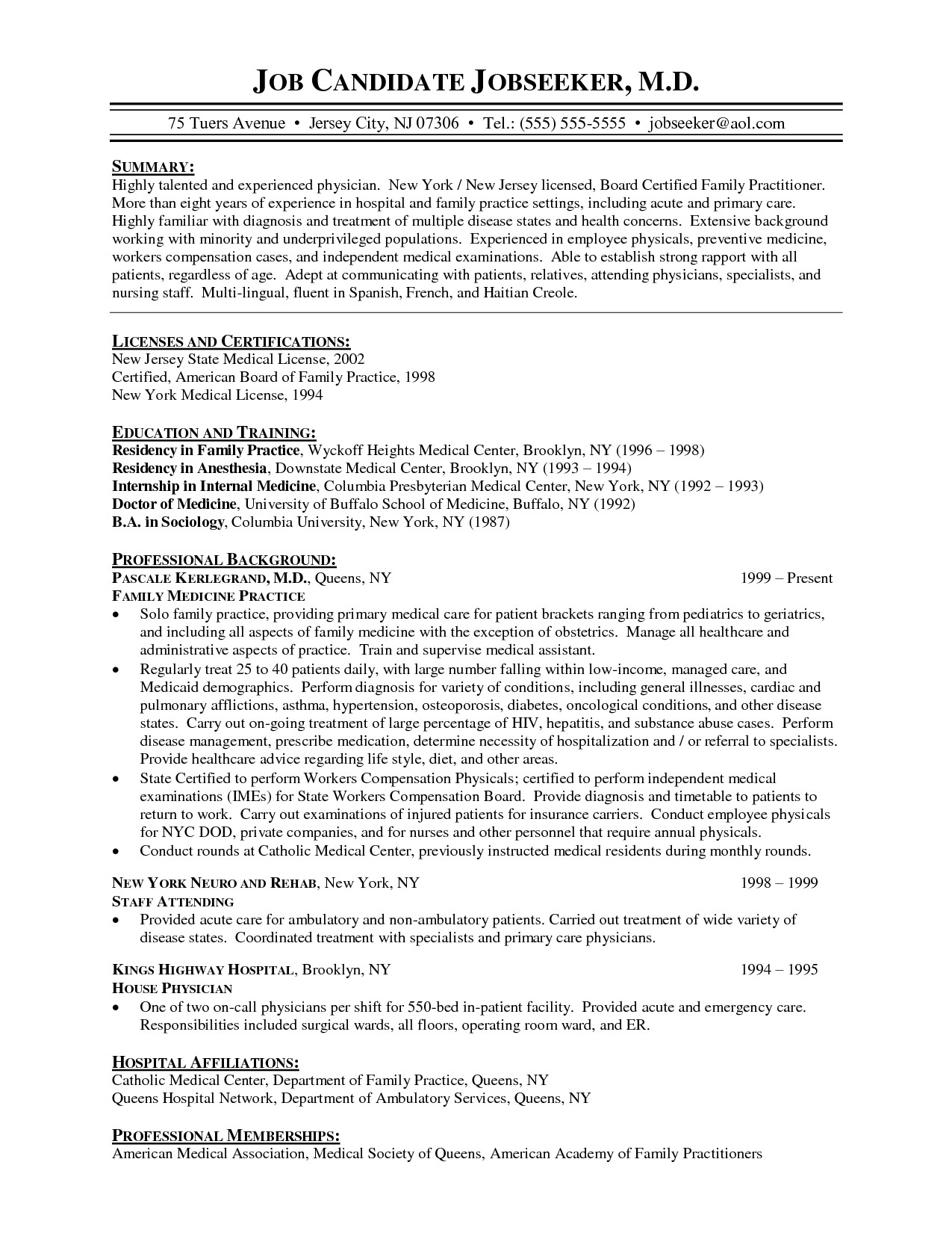 post physician cover letter for family 326646