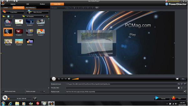 Cyberlink Powerdirector Slideshow Templates Cyberlink Powerdirector 8 Ultra Slide 5 Slideshow From