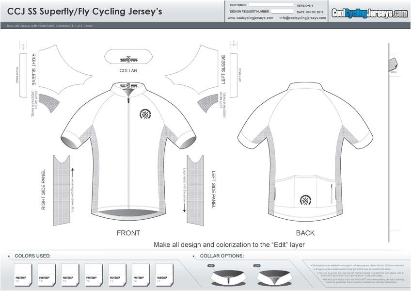 Cycling Shirt Template Template Downloads