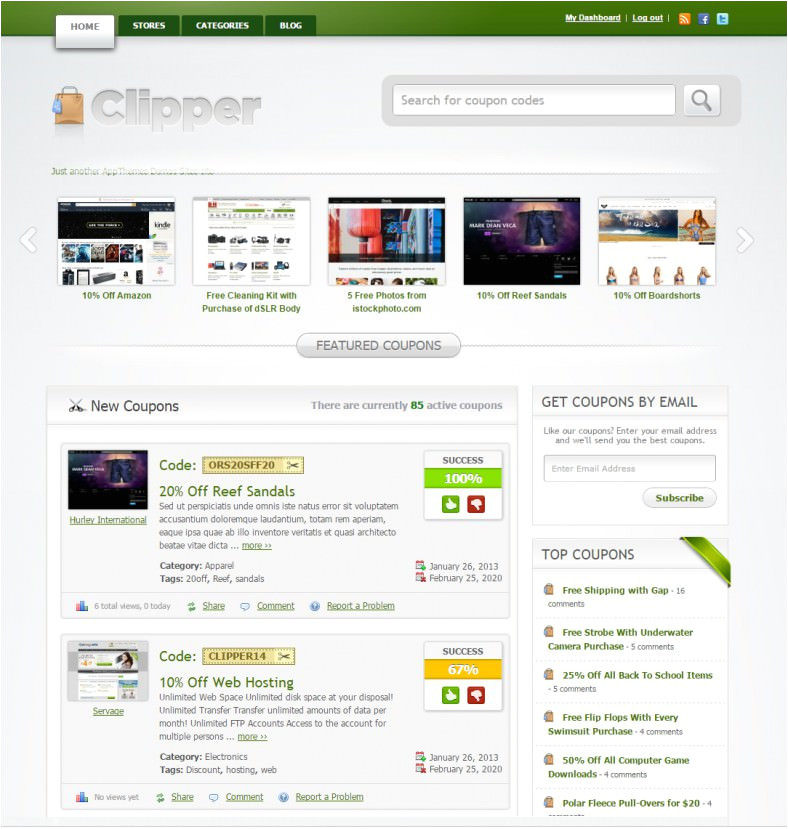 Daily Deal Template 4 Best Daily Deal WordPress Templates themes Free