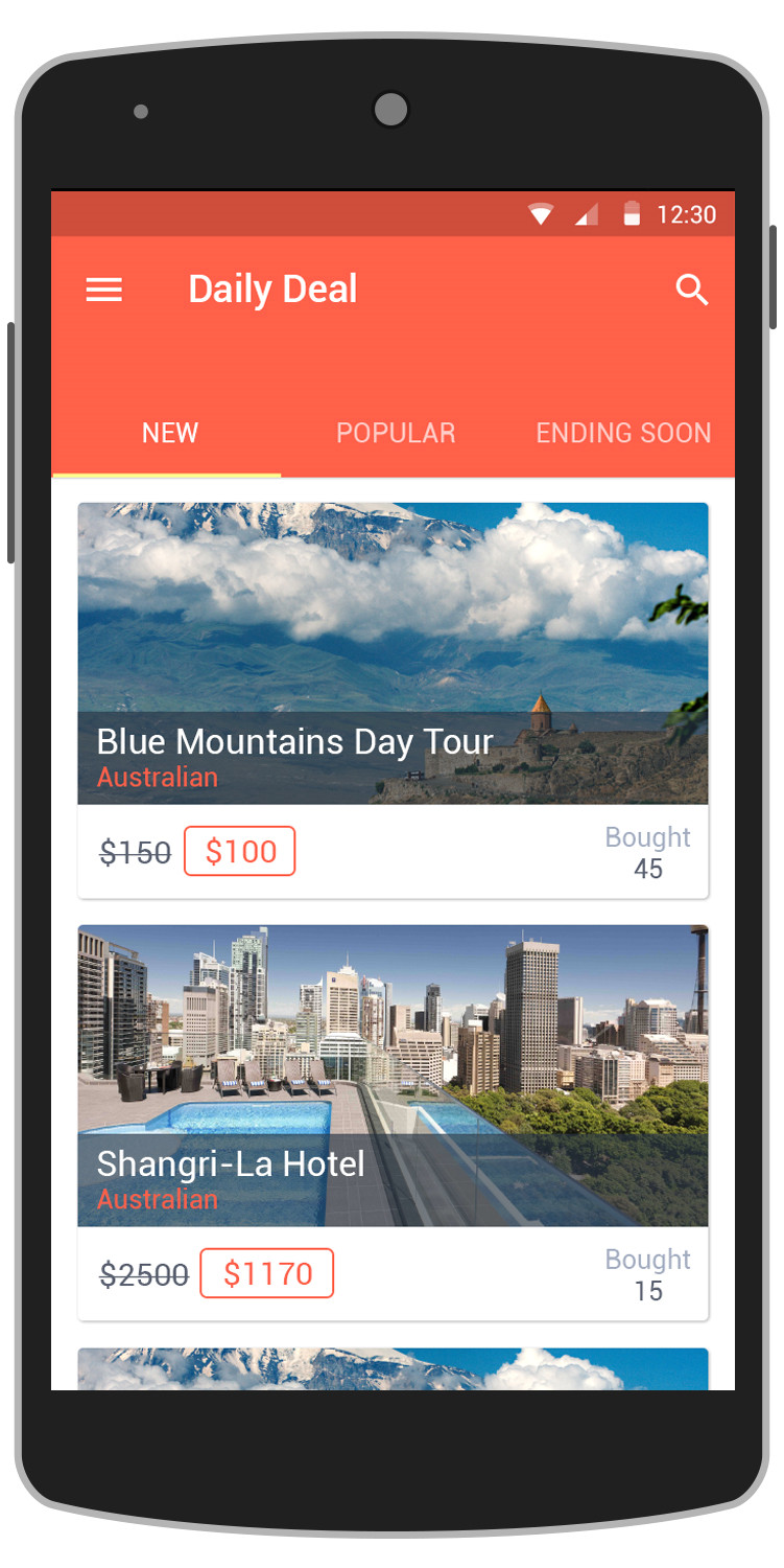 Daily Deal Template Deals android App Template