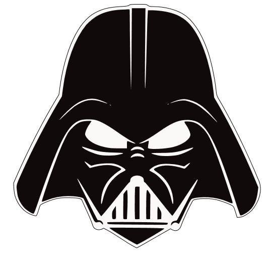 Darth Vader Helmet Template Darth Vader Head Silhouette Darth Vader Stencil I Got