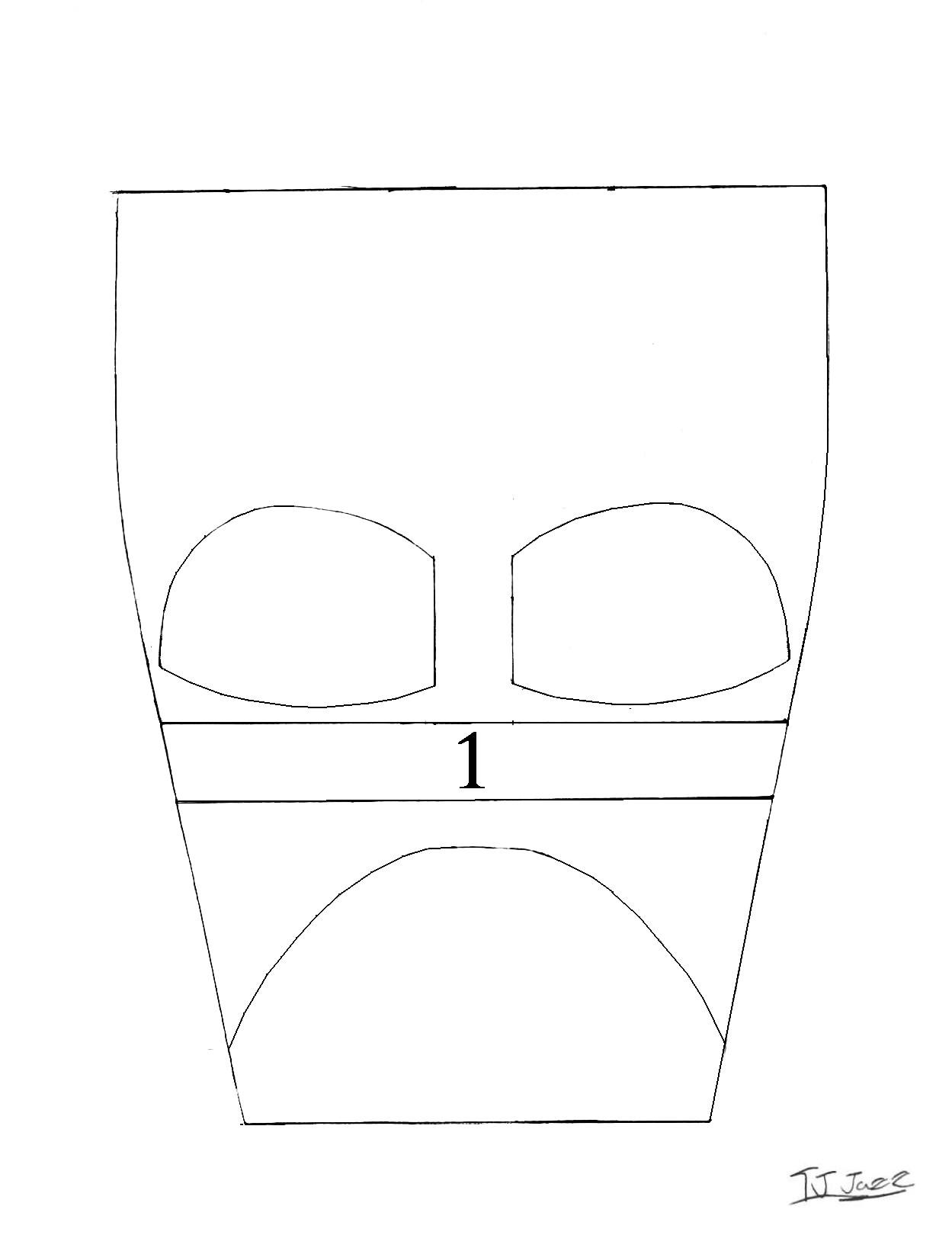 darth vader helmet templates part 1 659676976