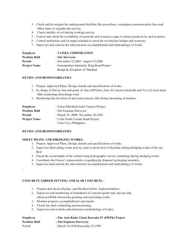 date of availability resume sample