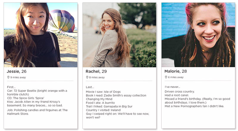 Dating Profile Template for Women Tinder Profile Examples for Women Tips Templates