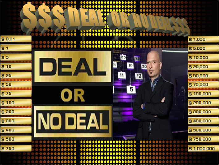 deal or no deal powerpoint game