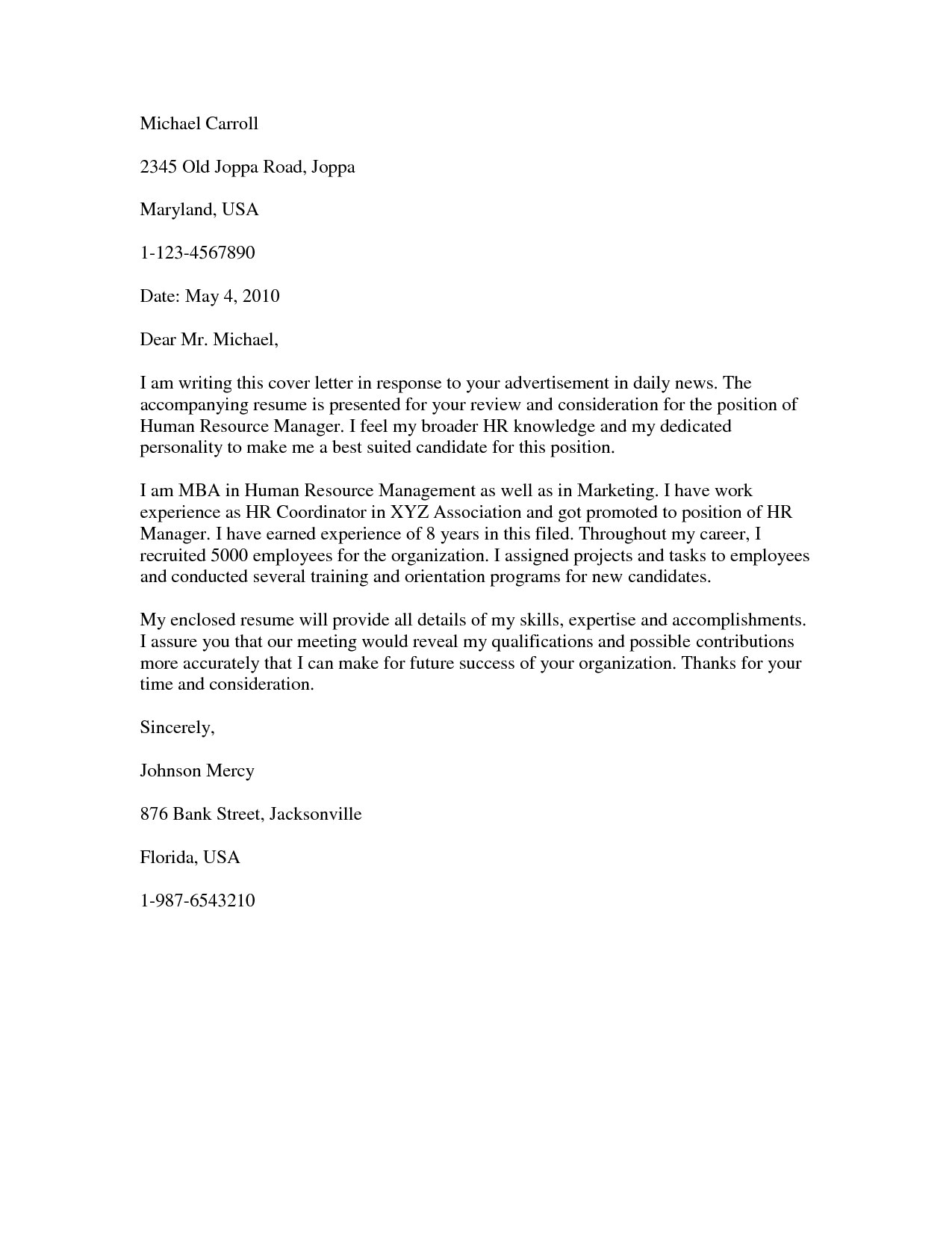 cover letter dear hiring manager dear hiring manager cover letter