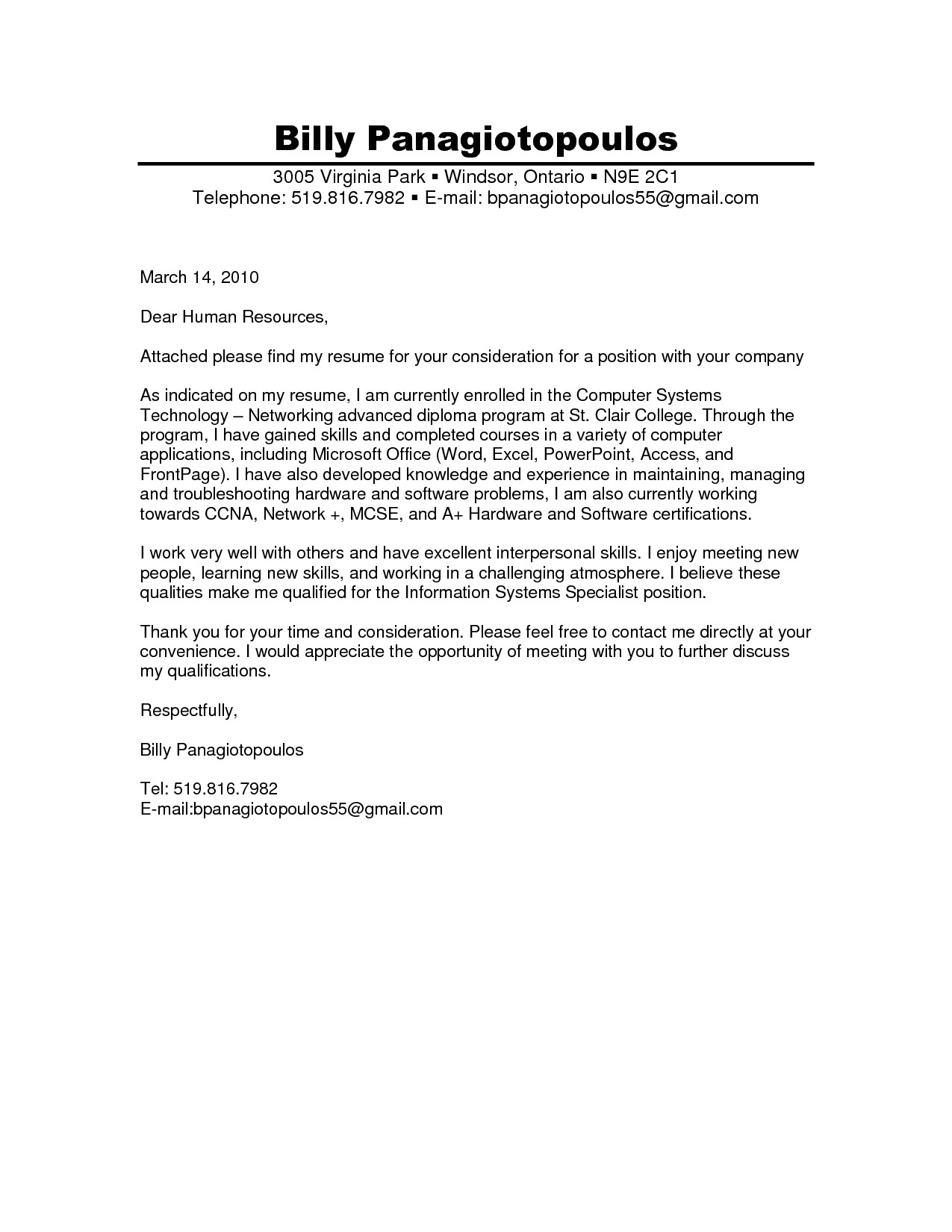 Dear Management Cover Letter Cover Letter Dear Project Scope Template