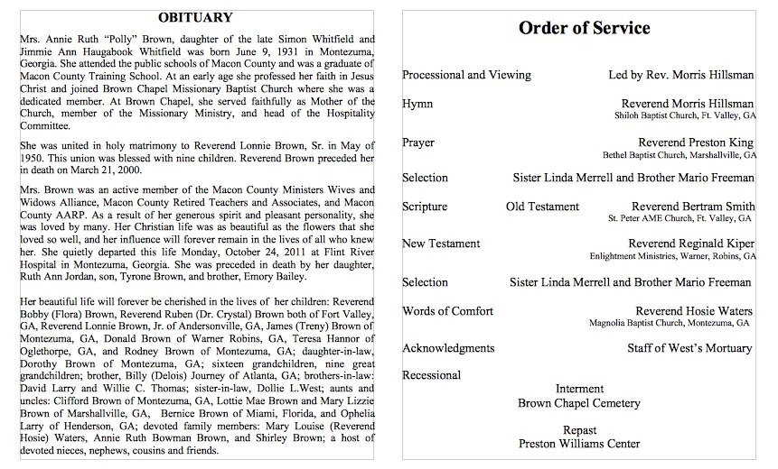 Death Program Templates 25 Obituary Templates and Samples Template Lab
