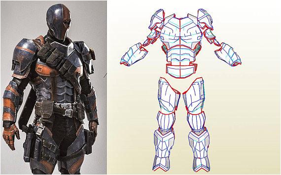 deathstroke full armor templates bonus