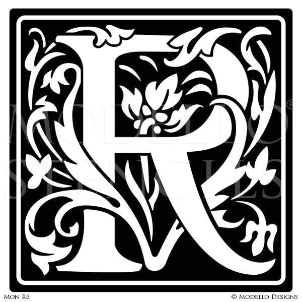 monogram stencils page 2