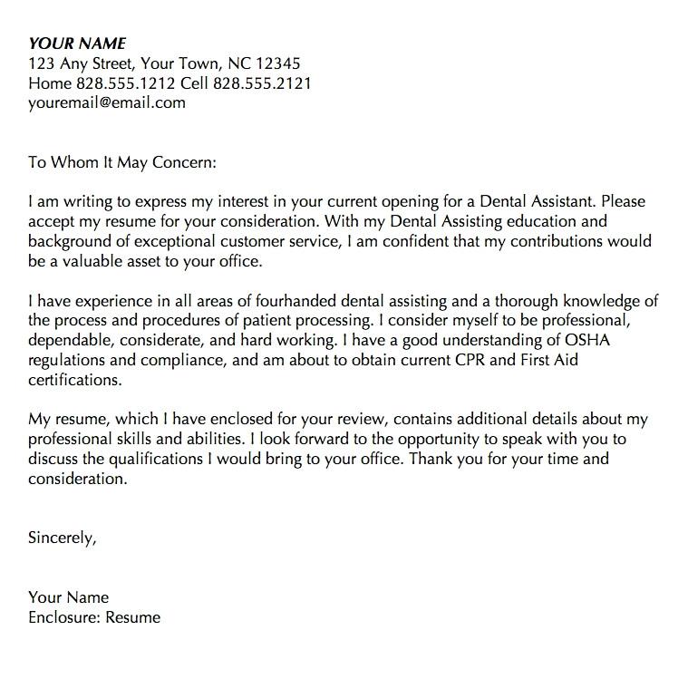 Dental Hygiene Cover Letter Sample Recent Graduate Dental assistant Cover Letter Samples Letter Template