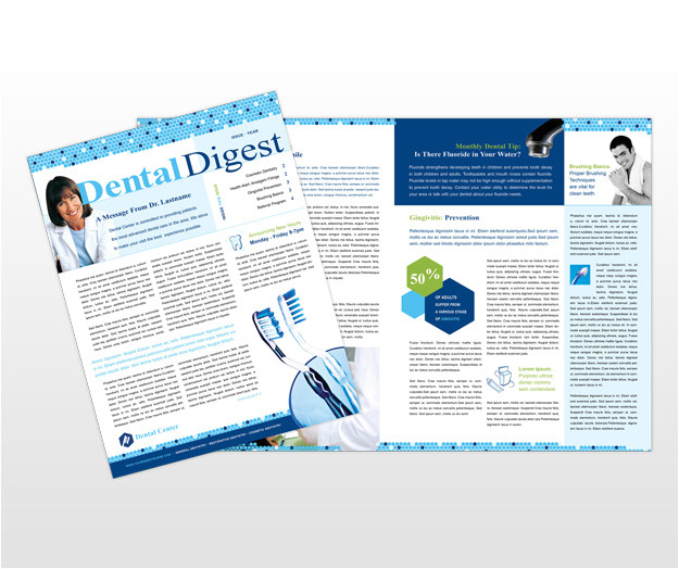 search q dental newsletters samples form restab