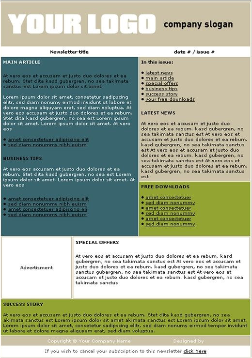 Department Newsletter Templates 16 Best Images About Newsletter Template Ideas On