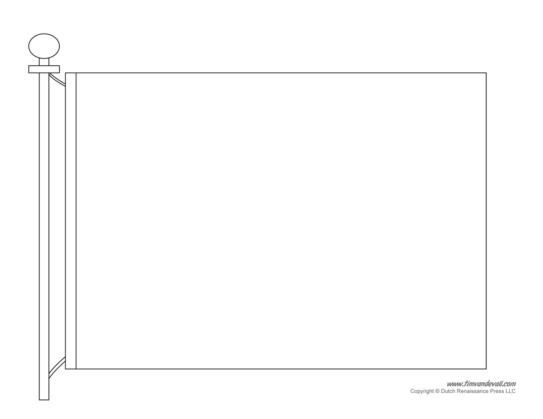 flag template 1325