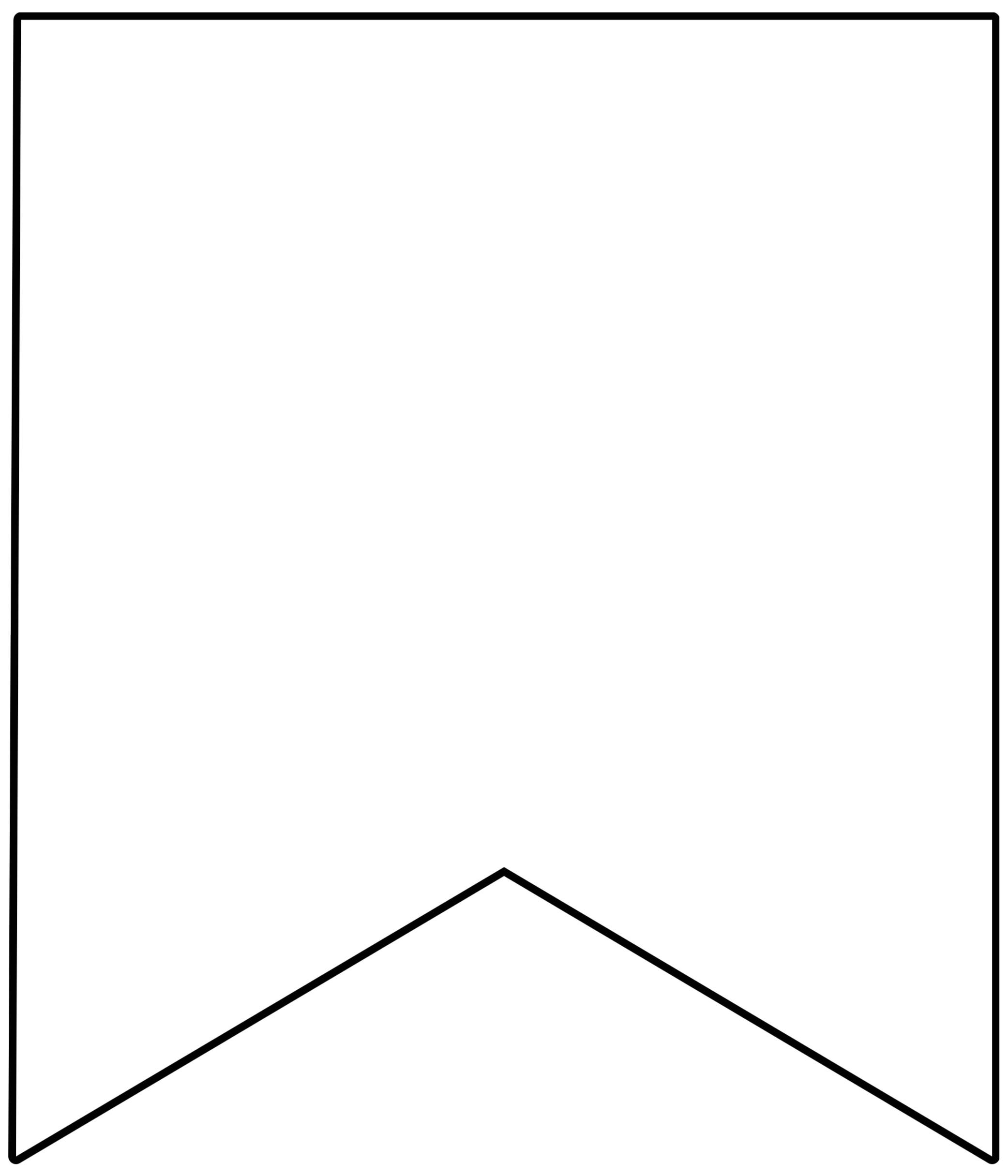 printable banner template free 1460