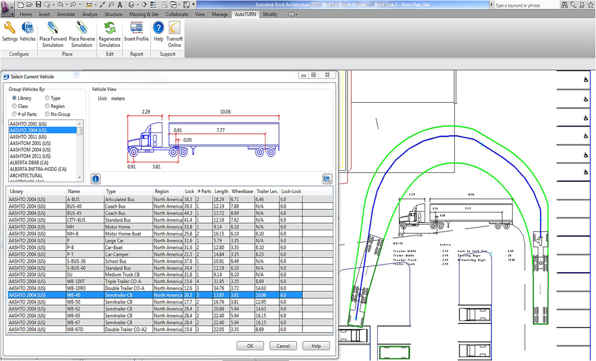 autoturn for revit