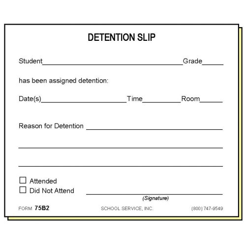 75b2 two part 20detention notice